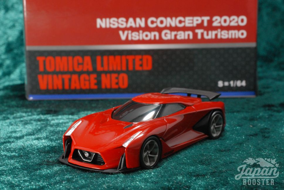 LV-NISSAN CONCEPT 2020 Red