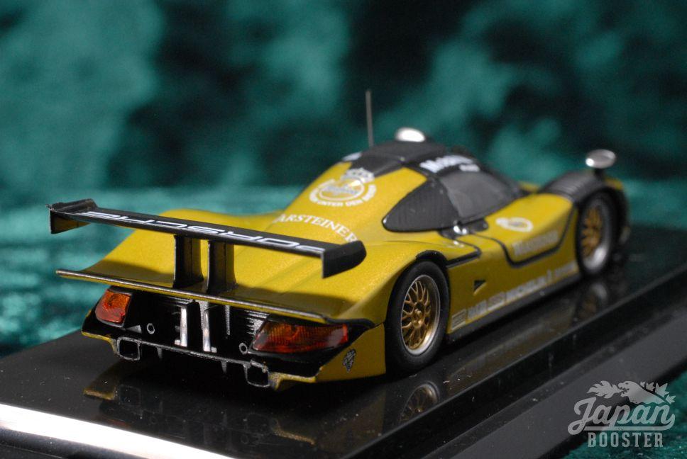kyosho original 1 64 beads porsche 911 gt1 1998 test car. Black Bedroom Furniture Sets. Home Design Ideas