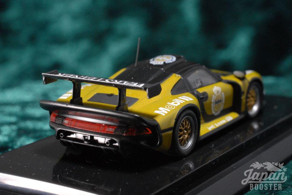kyosho original 1 64 porsche 911 gt1 1996 test car. Black Bedroom Furniture Sets. Home Design Ideas