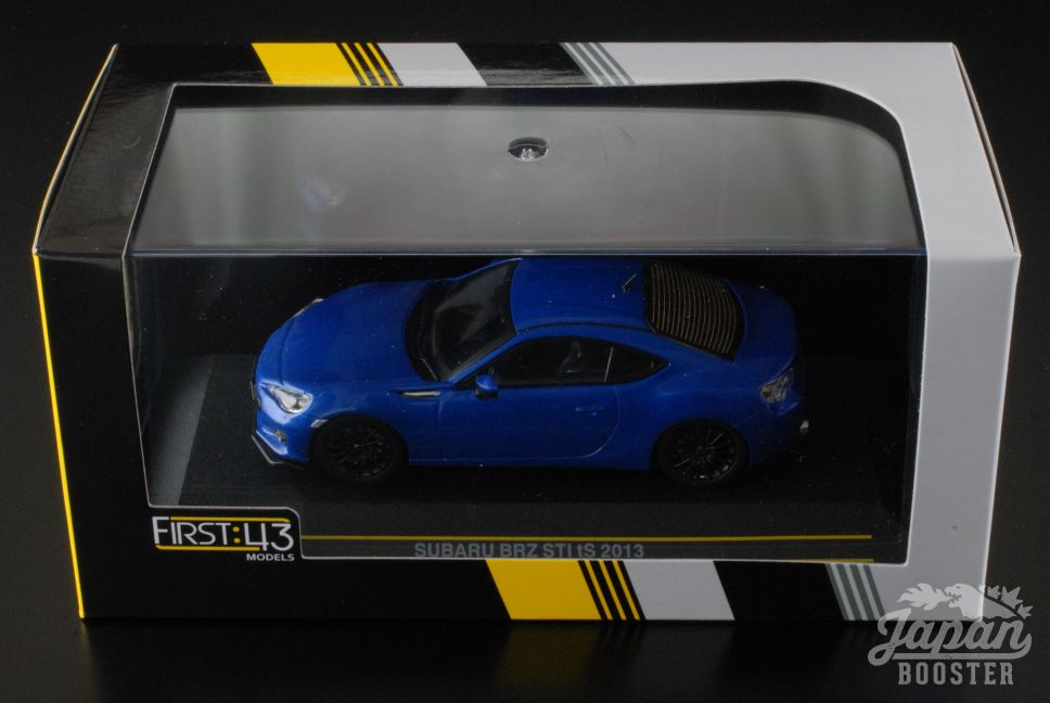 first43 1 43 subaru brz sti ts 2013 m blue f43 078 ebay. Black Bedroom Furniture Sets. Home Design Ideas