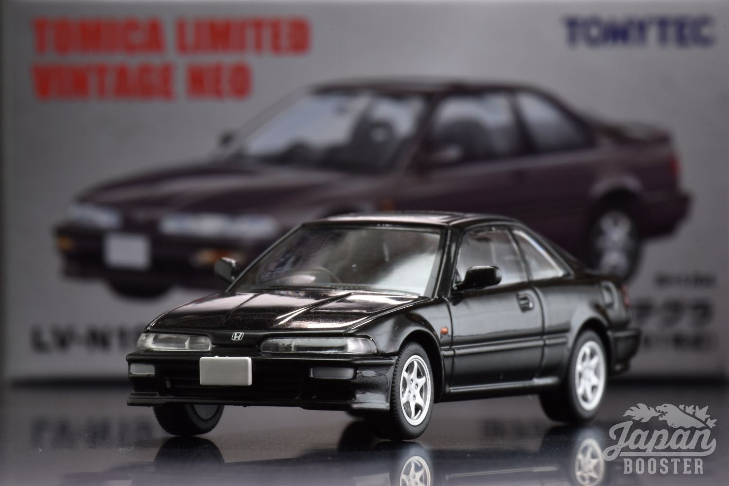 Black Tomica Limited Vintage NEO LV-N197b Honda Integra 3-door Coupe XSi