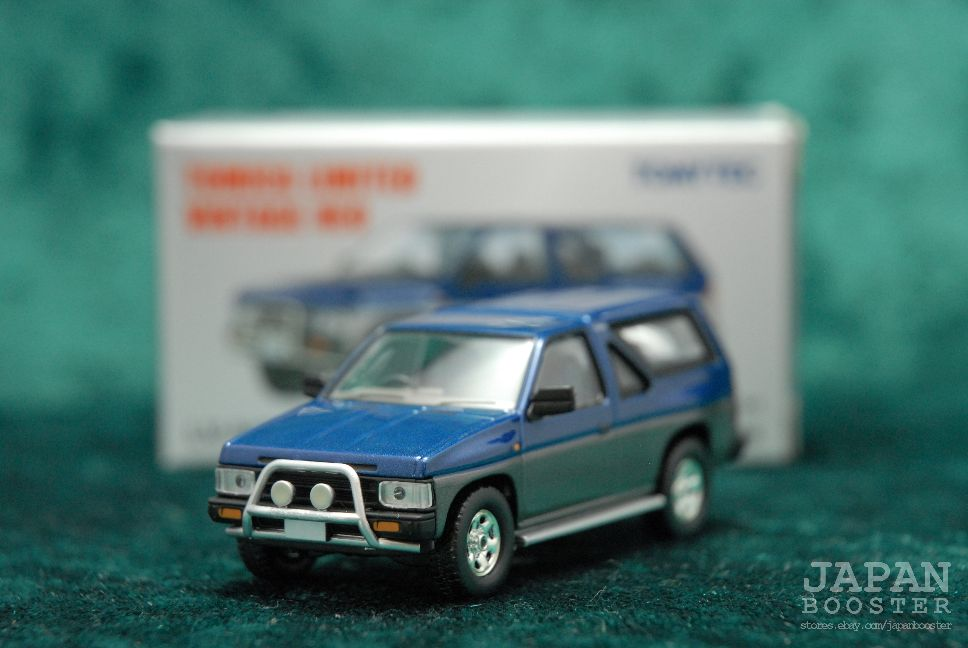 c51655df89c [TOMICA LIMITED VINTAGE NEO LV-N63a 1/64] NISSAN TERRANO R3M (Blue/Gray)