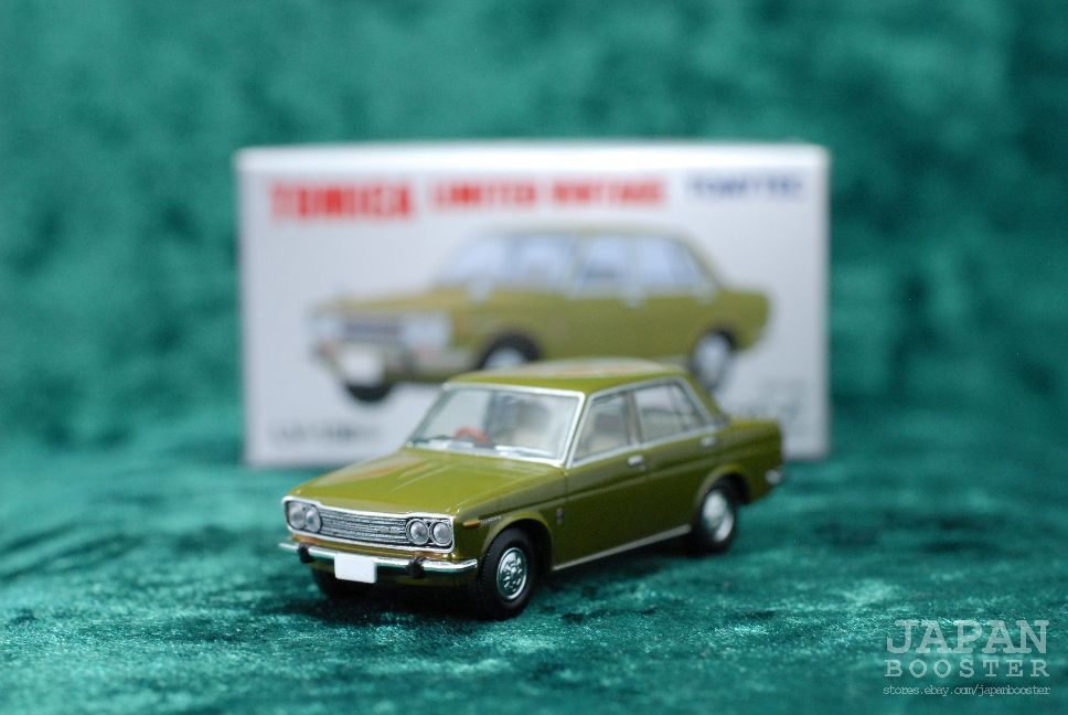 Tomica Limited Vintage Lv 138b 1 64 Datsun Bluebird 1800 Sss 1970 Olive