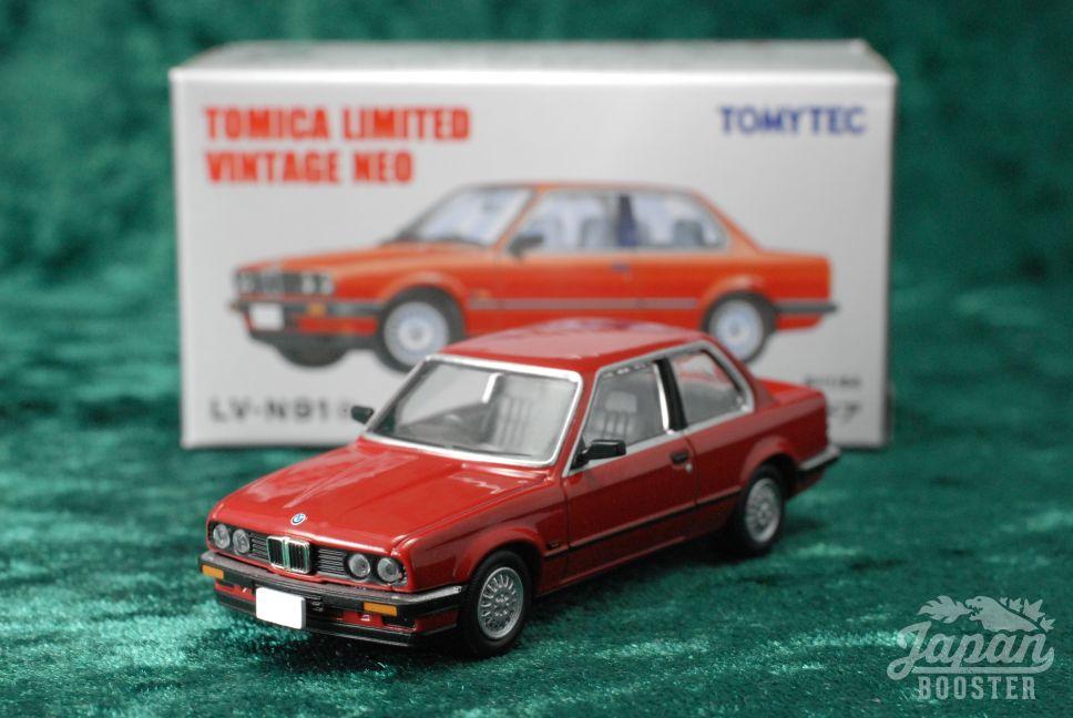 TOMICA LIMITED VINTAGE NEO LVNa BMW I DOOR Red - Bmw 318i 2 door